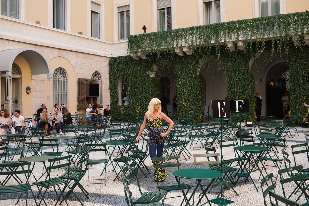48 hours with Donatella Versace